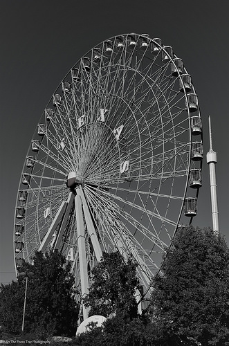 Texas Star Ferris Wheel at the Dallas Fairgrounds (2014)