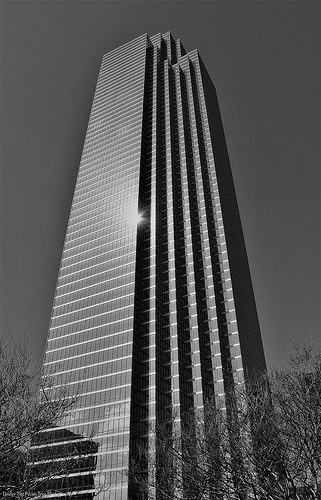 Bank of America Building; the tallest building in Dallas, Texas (2015)