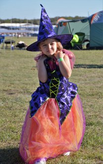 Our dancing little witch. It was also her 4th Birthday. (2013)