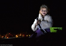 The Colony Parade of Lights: This young lady is a pageant from our beautiful city.
