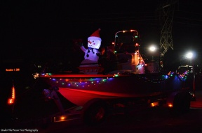 Christmas Board Float