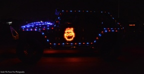The Jeep Club participated in the Parade of Lights