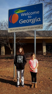 Katelynn and Sara finally made it to Georgia.