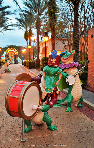 """Mardi Gras"" at the Port Orleans French Quarter Resort in Walt Disney World I"