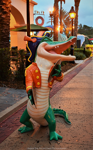 """Mardi Gras"" at the Port Orleans French Quarter Resort in Walt Disney World II"