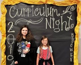 This was the 7th Curriculum Night at Sara's Elementary School