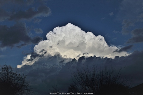 Storm cloud in the east I