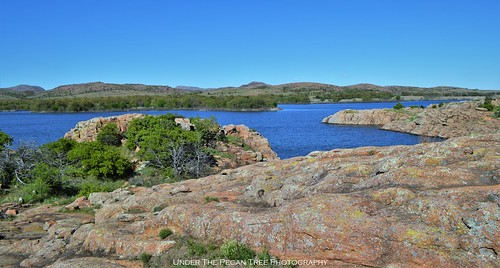 Beautiful scenery at Quanah Parker Lake