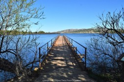 The pier at Quanah Parker Lake