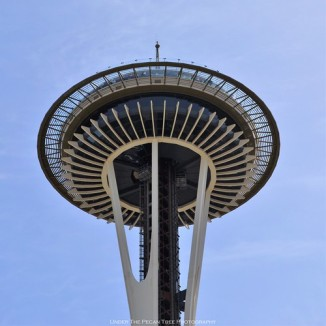 Space Needle in the late morning