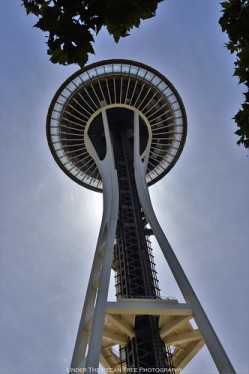 Space Needle at noon