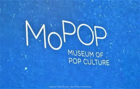 MoPOP big screen for music videos