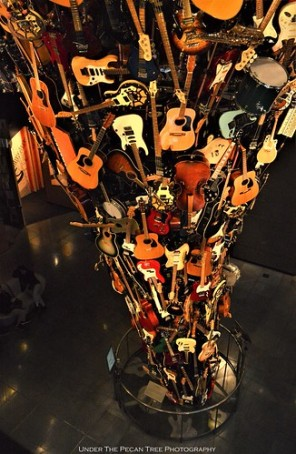 The Guitar Tornado from above