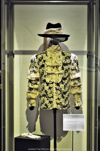 The outfit Prince wore on the Purple Rain Tour in 1984 - 1985