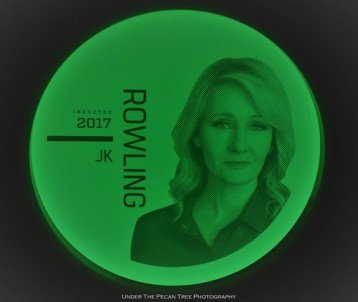 J.K. Rowling was inducted in the Hall of Fame in 2017