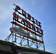 The famous Public Market Center sign