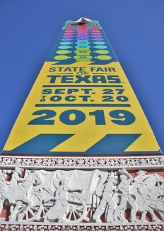 Front Entrance of the State Fair of Texas 2019